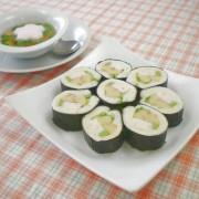 「伊達巻」の海苔ロールサンドイッチ
