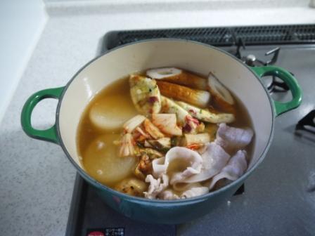 白菜キムチと三河豚のおでん4
