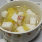 白菜とはんぺんスープ煮