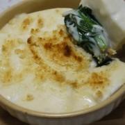 はんぺんと小松菜のクリームグラタン