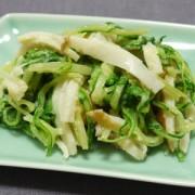 ちくわと水菜の明太サラダ