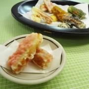 ちくわの紅生姜天ぷら完成
