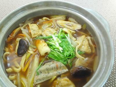 No.24179(料理24-191) 完成ちくわと「いわし玉」、「一口きんぴら」のじょじょ切り鍋