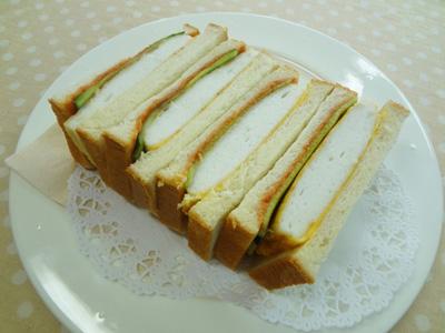 No.24177(料理24-189) 完成はんぺんピカタのサンドイッチ