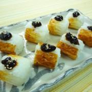 No.25008(料理25-013)ちくわの一口寿司(甘味噌ダレ) 完成