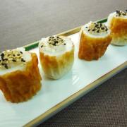 No.25013(料理25-018)ちくわの一口寿司(いりごま)完成